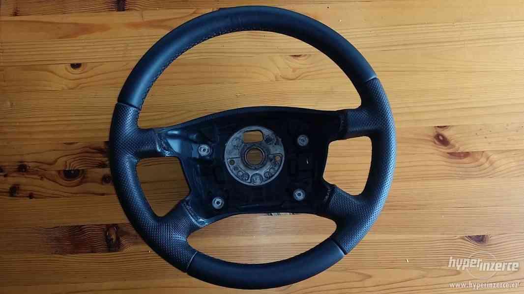 Prodám nový kožený volant na Škoda Fabia 1. generace - foto 1