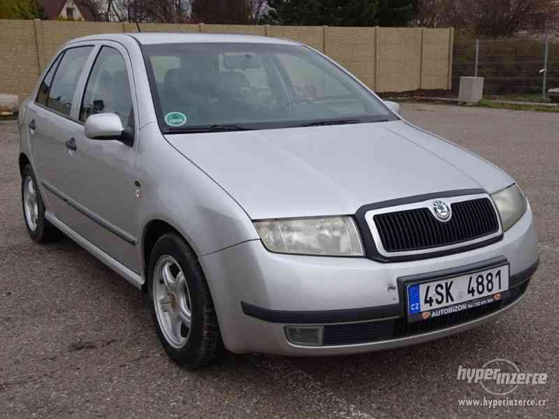 Škoda Fabia 1.4i r.v.2000 (stk:8/2022)