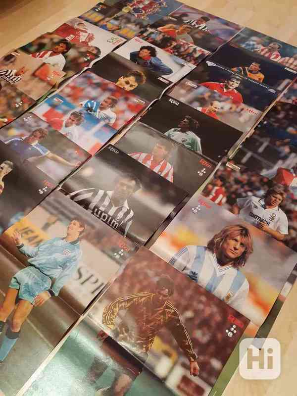 31 plakátů z časopisu Fotbal (1991- 1997) - foto 5