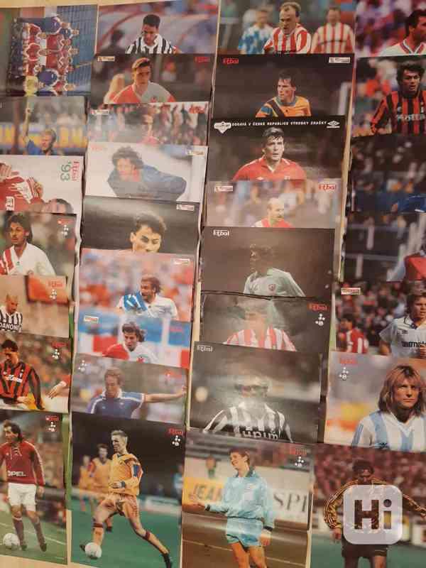 31 plakátů z časopisu Fotbal (1991- 1997) - foto 4