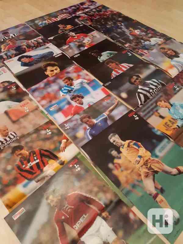 31 plakátů z časopisu Fotbal (1991- 1997) - foto 3
