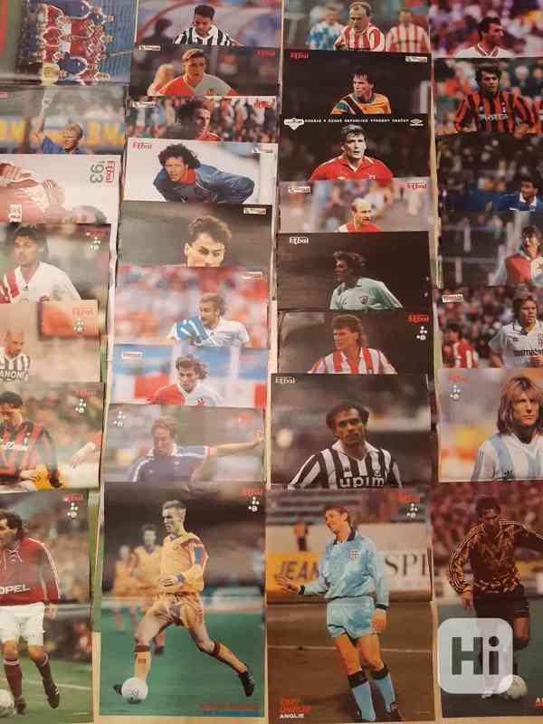 31 plakátů z časopisu Fotbal (1991- 1997) - foto 2