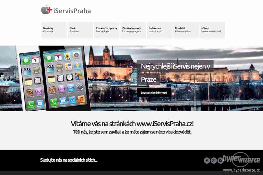 Servis Apple výrobků -záruční a pozáruční servis nejrychleji