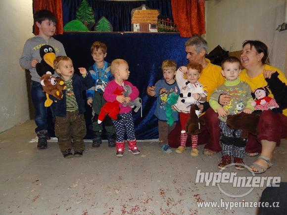 Maňáskové divadlo pro Vaše děti