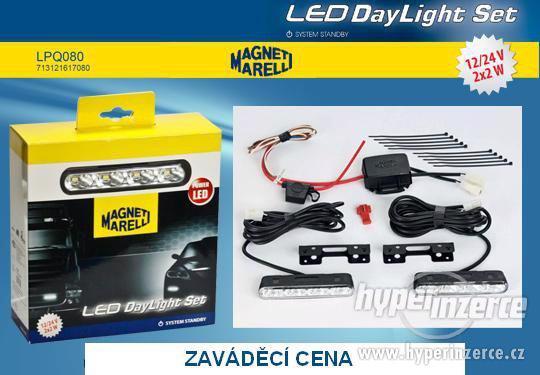 LED světla pro denní svícení LPQ080