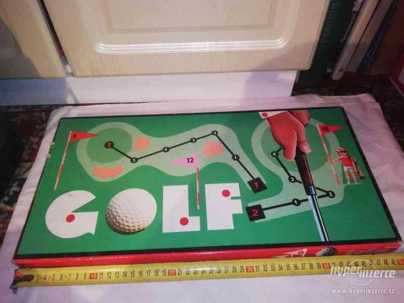 Golf - desková hra - retro