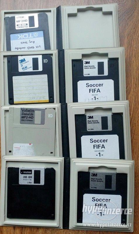 Floppy disky 51/4 a 1,44MB
