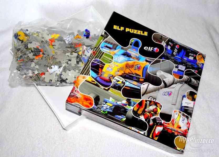 Maxi puzzle se  ZÁVODNÍ FORMULÍ  ! - foto 3