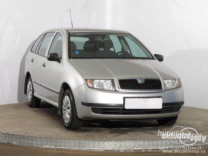 Škoda Fabia 1.2, benzín,  2004, el. okna, STK, centrál - foto 1