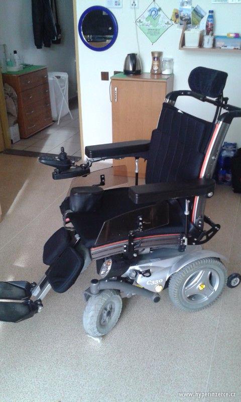 Elektrický invalidní vozík PERMOBIL C 350