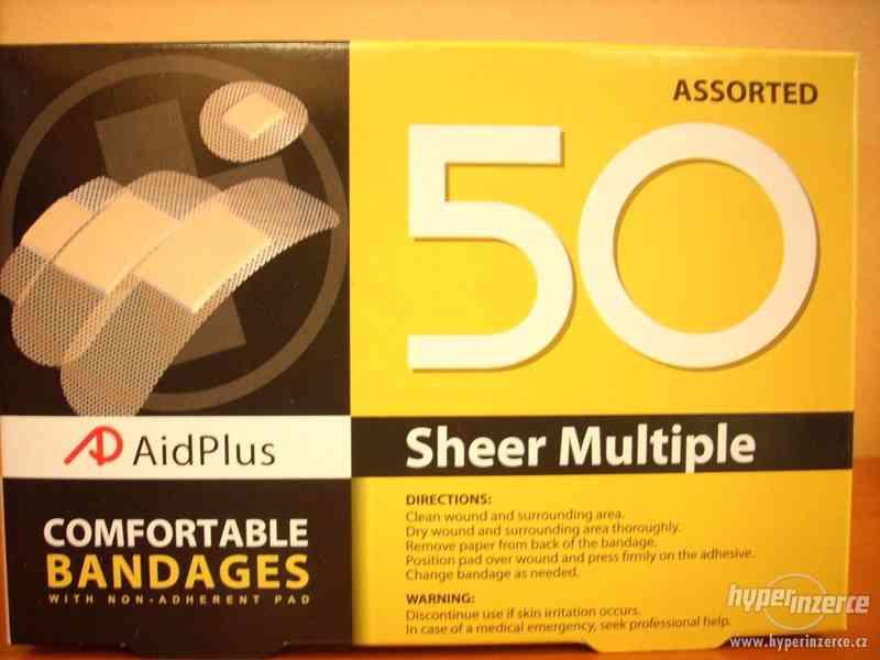 AidPlus náplast jemná průsvitná - foto 1