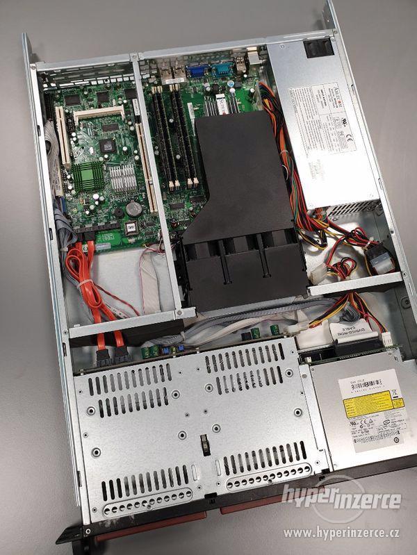 server Supermicro, PDSMi+, Intel Core2 Duo E6320 @ 1.86GHz - foto 1