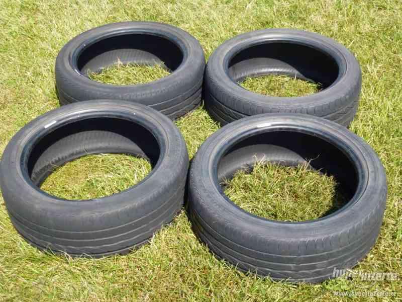 Prodám levně sadu letních pneu 205/45 R 16