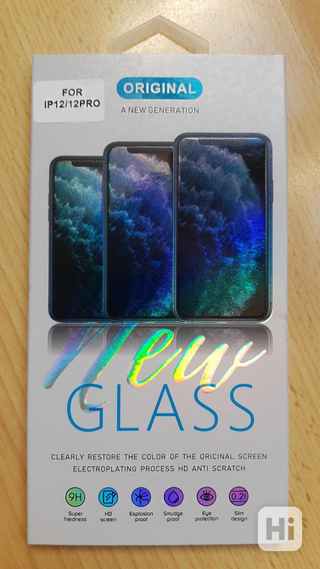Tvrzené sklo - Iphone 12/12PRO - foto 1