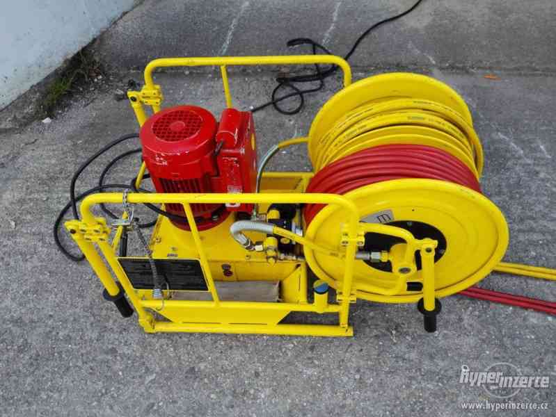 hydraulické nůžky + čerpadlo Weber hydraulik 630bar - foto 2