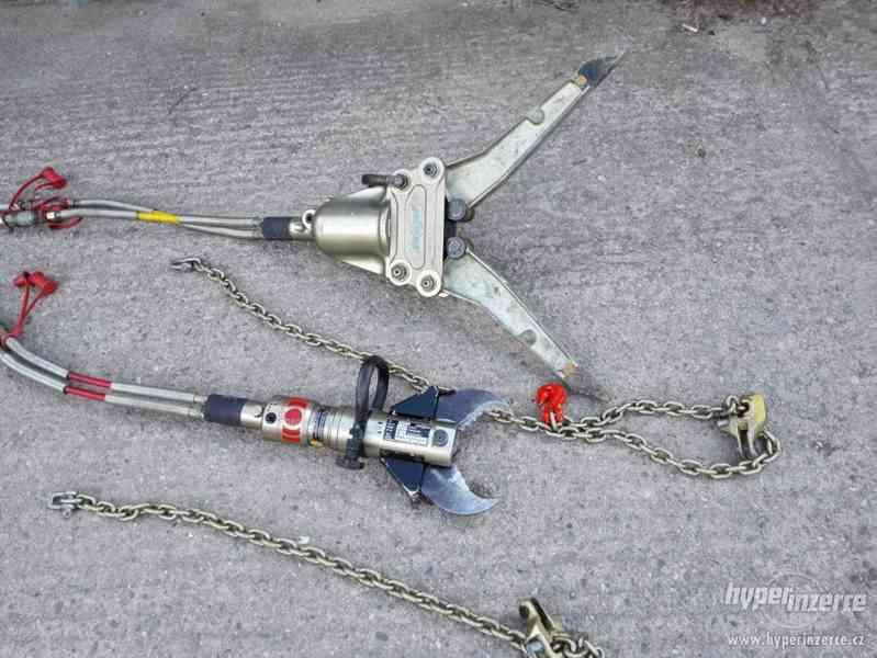 hydraulické nůžky + čerpadlo Weber hydraulik 630bar - foto 3