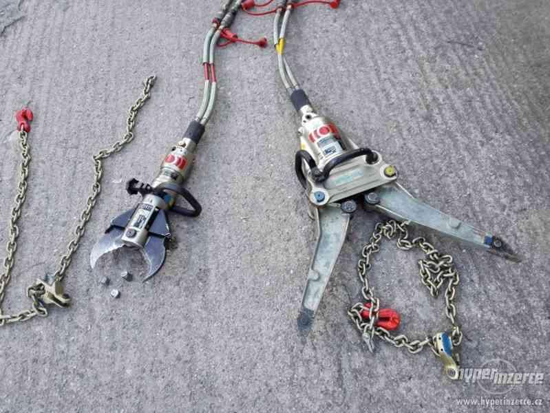 hydraulické nůžky + čerpadlo Weber hydraulik 630bar - foto 6