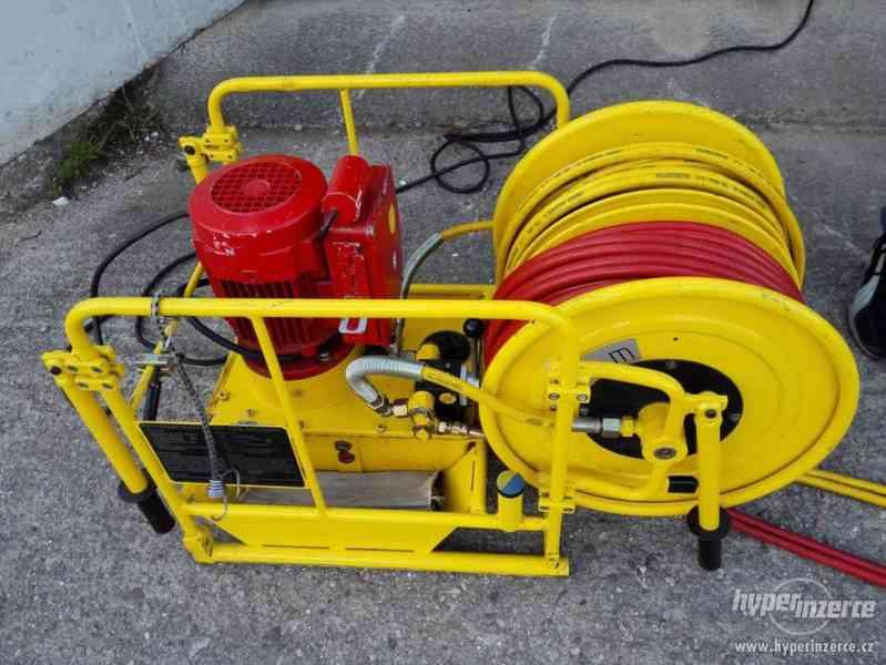 hydraulické nůžky + čerpadlo Weber hydraulik 630bar - foto 7