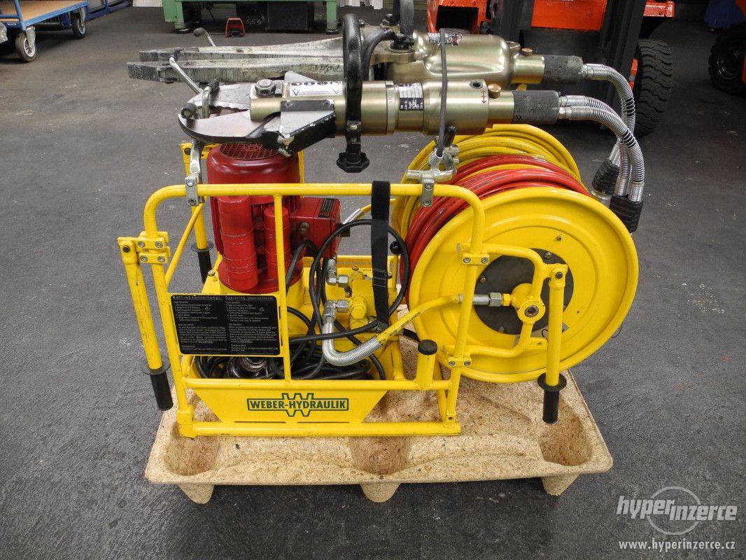 hydraulické nůžky + čerpadlo Weber hydraulik 630bar - foto 1