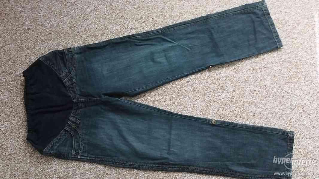 Těhotenské rifle + 3/4 kalhoty ( 3 kusy )