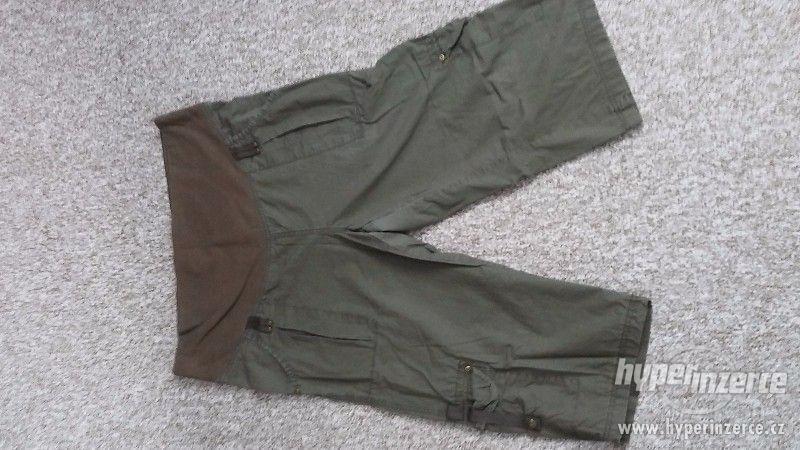 Těhotenské rifle + 3/4 kalhoty ( 3 kusy ) - foto 3