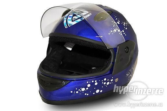 Dětská moto helma integrální dětská moto přilba nová