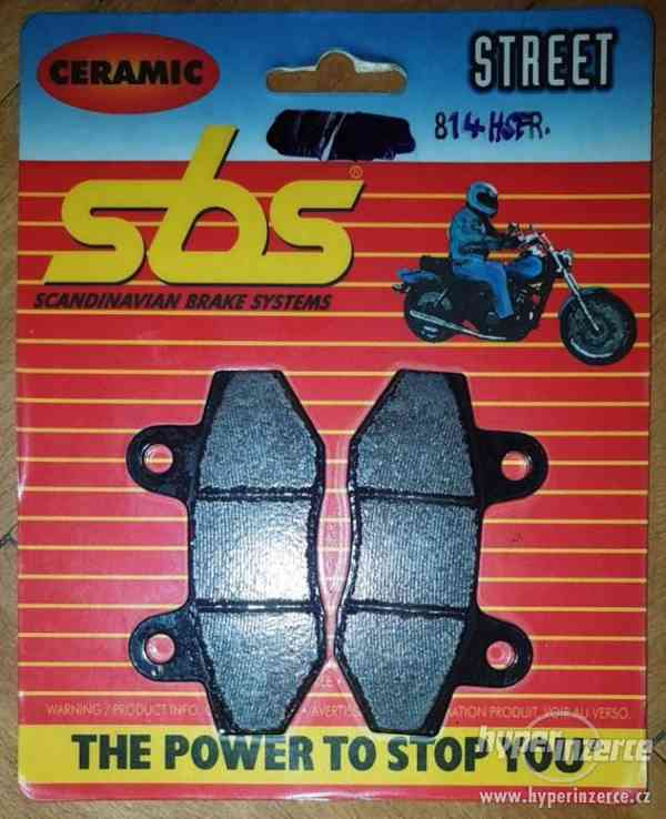 Brzdové destičky SBS - levně