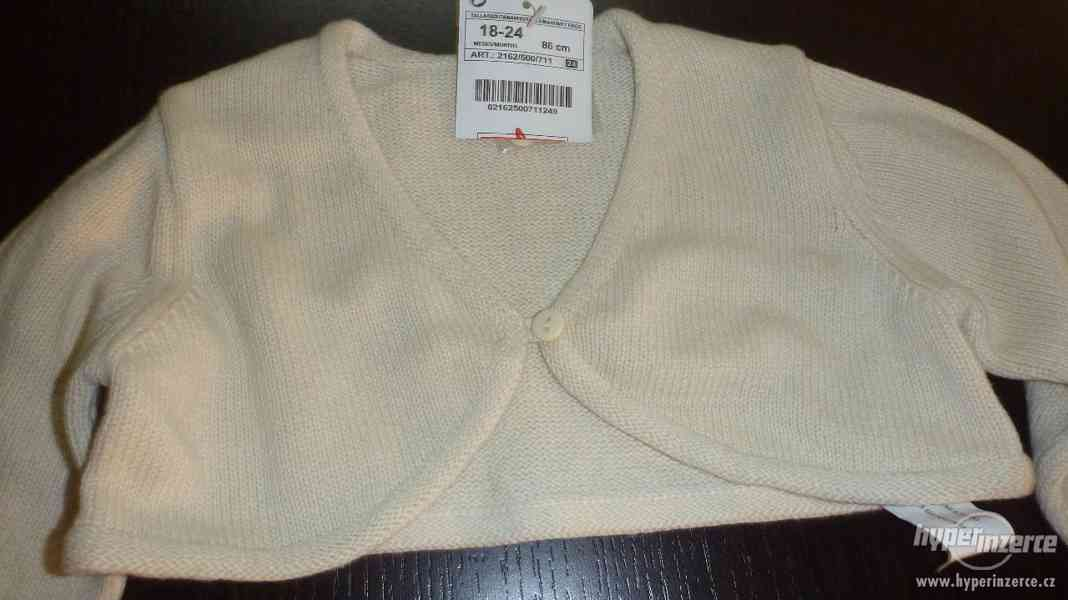 Dětská vestička pletená vel. 86 značka ZARA