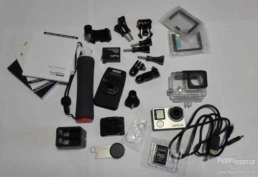 Kamera GOPRO HERO4 Silver Edition