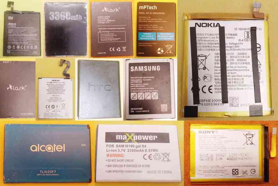 Nabíjecí baterie pro různé mobily -ve výborném stavu!!!