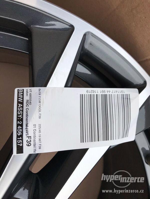 "BMW X2 alu kola 19"" M-Paket, nové, originál BMW !! - foto 8"