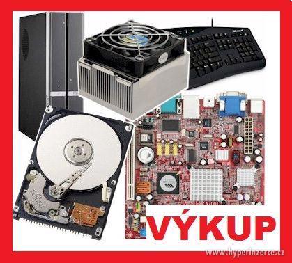 Koupím komponenty do PC, funkční i nefunkční