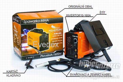 Svařovací invertor 10-160A, svářečka