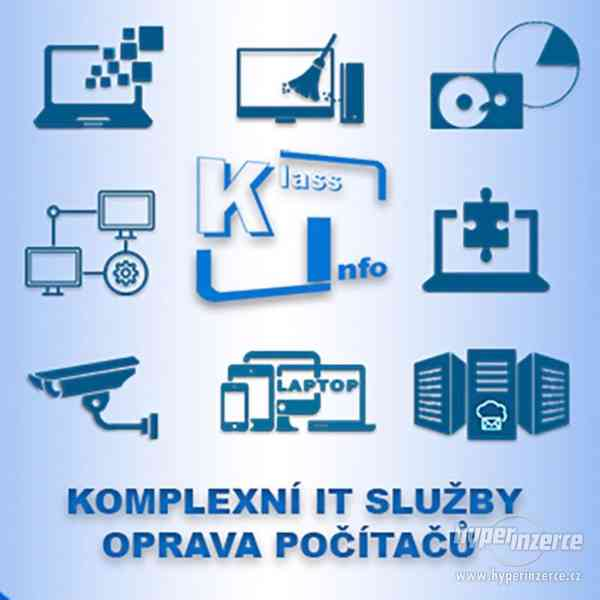 Servis počítačů a jiné IT služby v Praze