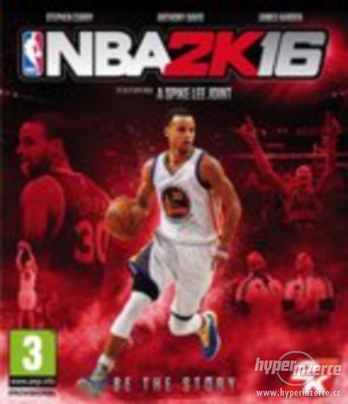PC hra - NBA 2K16 - nepoužitá, jen rozbalená - foto 1