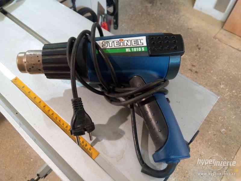 Prodám značkovou horkovzdušnou pistoli STEINEL HL1810S - foto 1