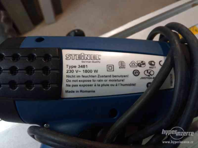 Prodám značkovou horkovzdušnou pistoli STEINEL HL1810S - foto 2