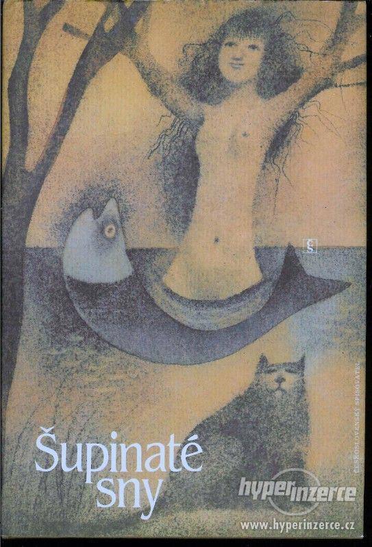 Šupinaté sny  antologie 1.vydání , ilustrace  Adolf Born 198