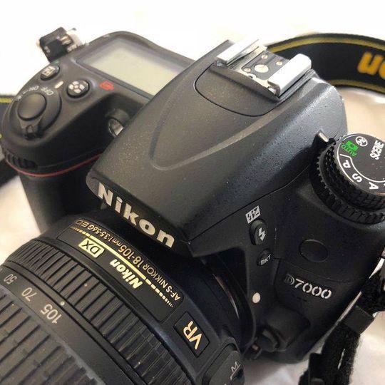 Nikon D7000 černý + objektiv AF-S NIKKOR 18-105mm - foto 2