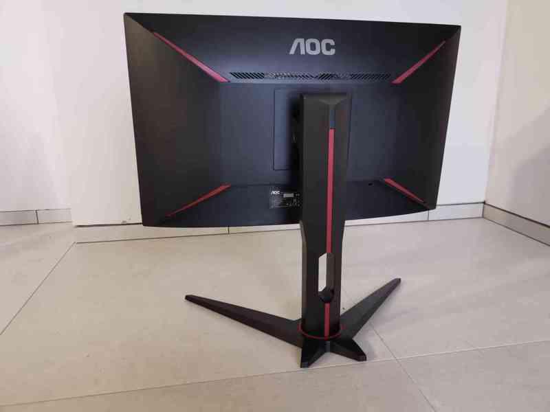 Prodám herní monitor AOC C24G1 Full HD, 144 Hz, 1 ms odezva - foto 7