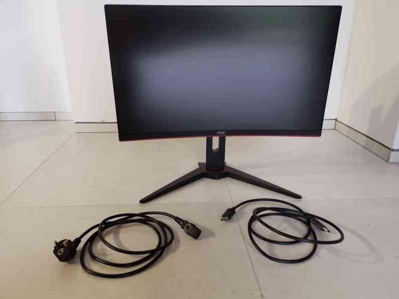 Prodám herní monitor AOC C24G1 Full HD, 144 Hz, 1 ms odezva - foto 4