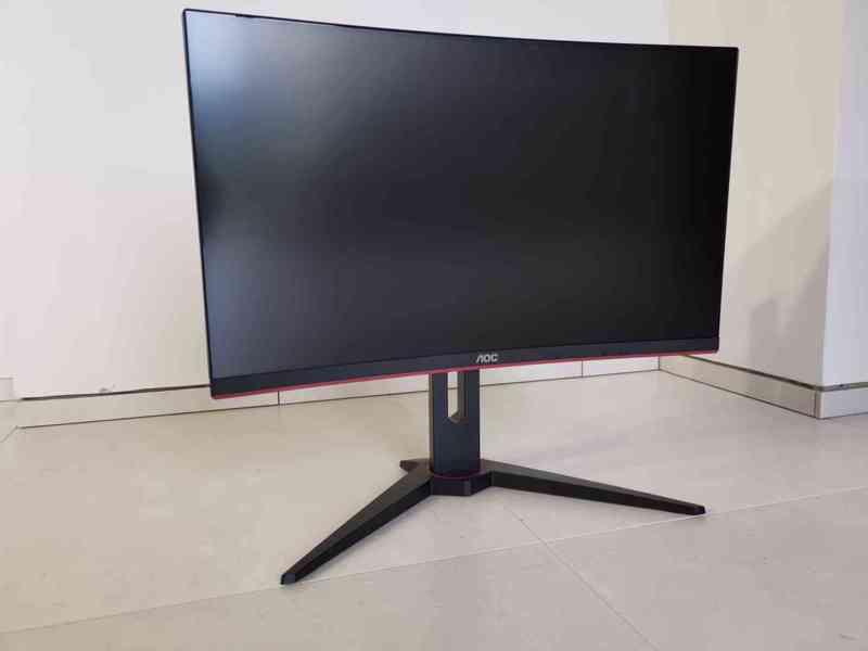 Prodám herní monitor AOC C24G1 Full HD, 144 Hz, 1 ms odezva - foto 9