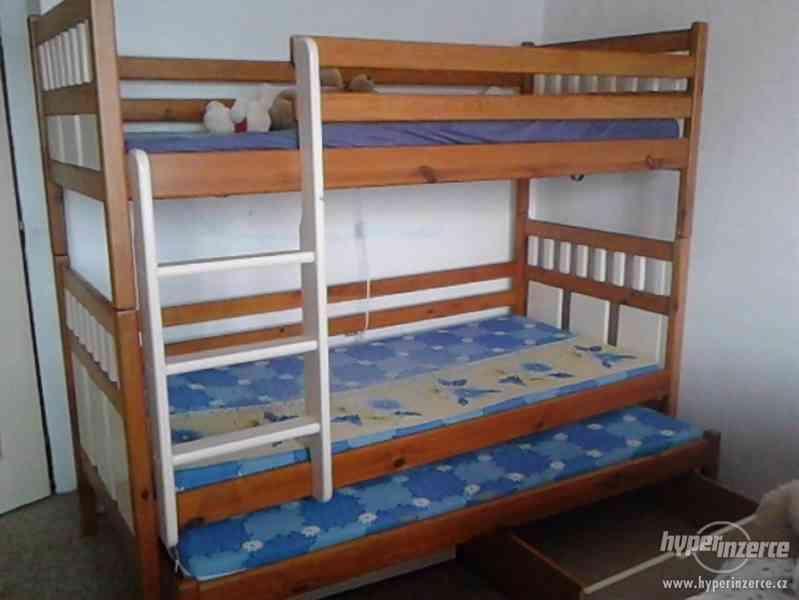 Prodám patrovou postel (3v1)