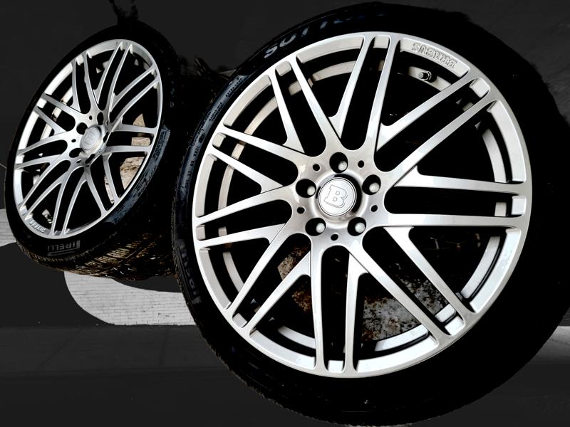 Alu kola Mercedes Brabus monoblock 5x112 9,5jx19 et50 pneu p