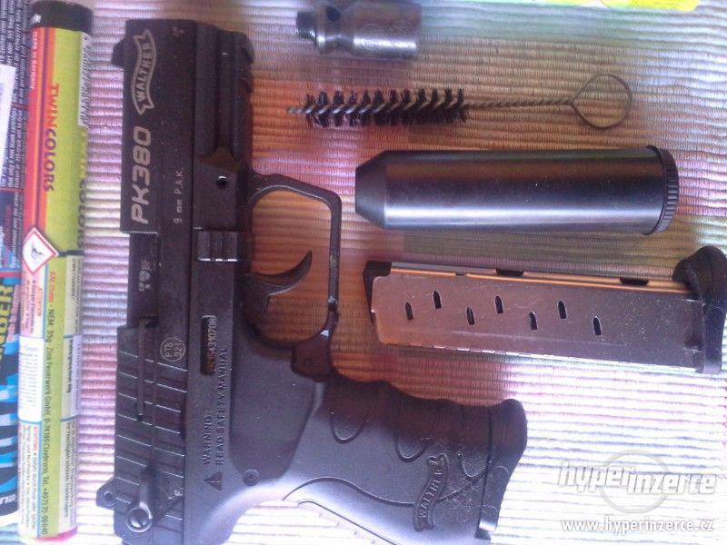 Plynová pistole - prodám - foto 1