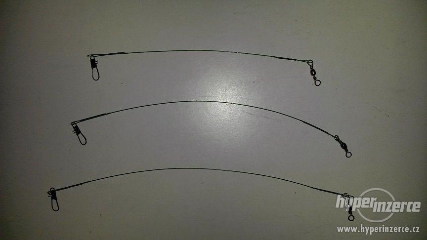 rybářské ocelové lanka