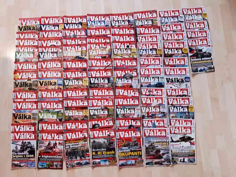 sbírky časopisů VÁLKA a II. SVĚTOVÁ (2013-2020)
