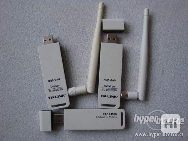 99Kč Wifi router USB TP link tl-wn422g - foto 1