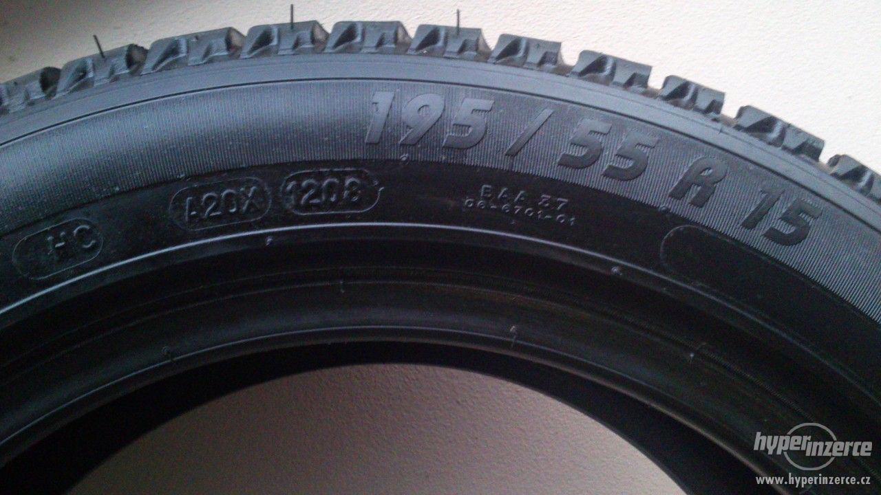 Zimní pneu 195/55 r15 - foto 1