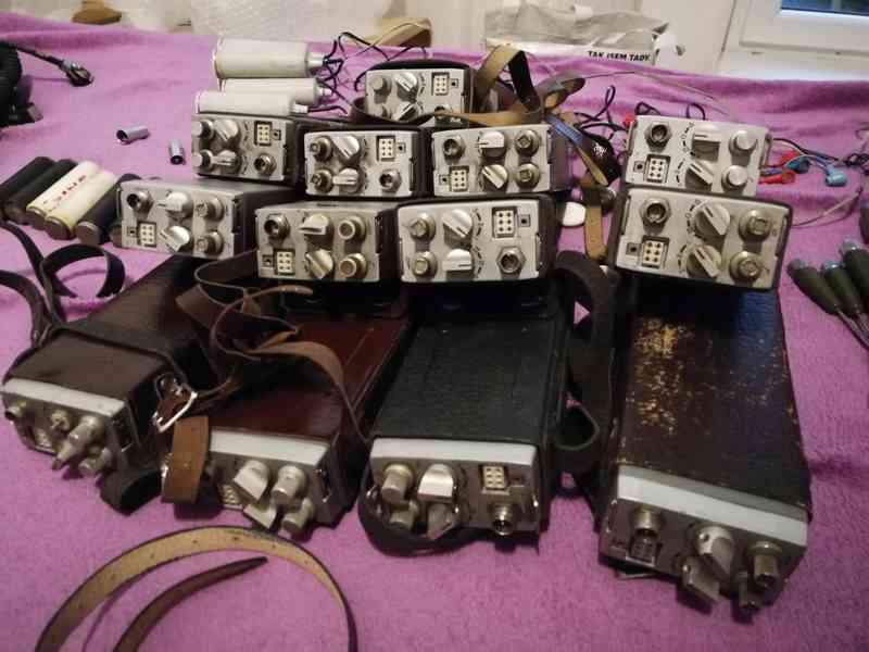 Staré vysílačky tesla  - foto 2